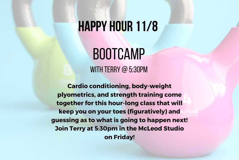 Flyer For Bootcamp Class