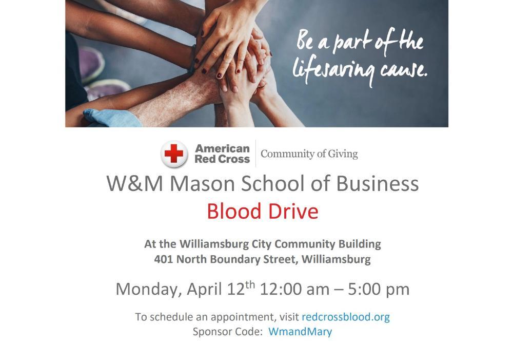 Red Cross Blood Drive Flyer