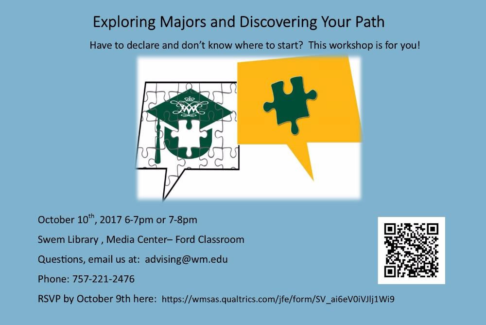 Exploring Majors and Discovering Your Path