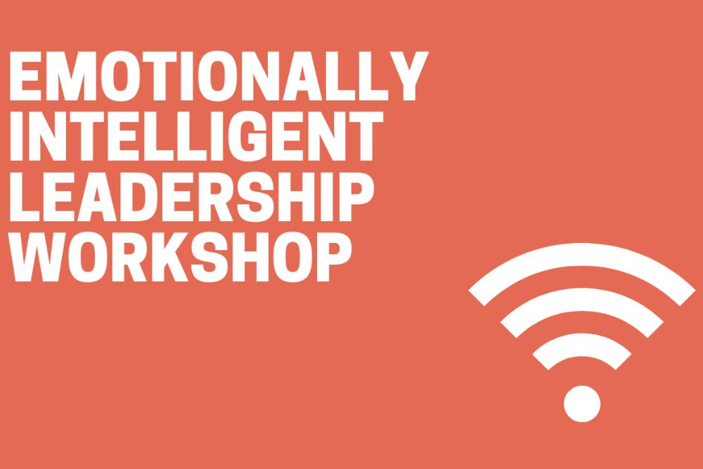 Emotionally Intelligent Leadership Workshop and wi-fi signal icon