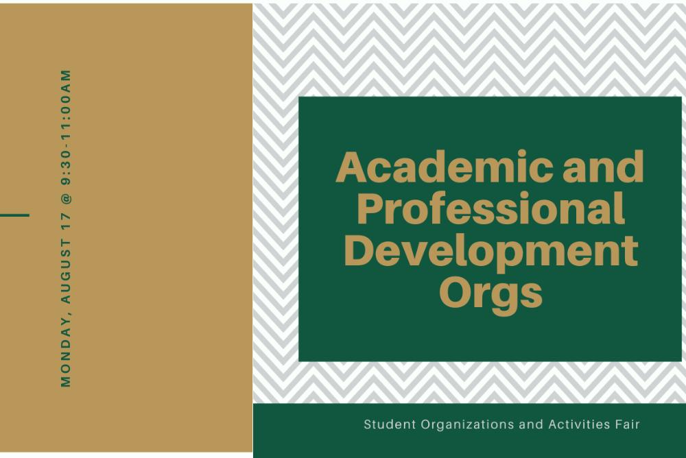 Academic and Professional Development Orgs