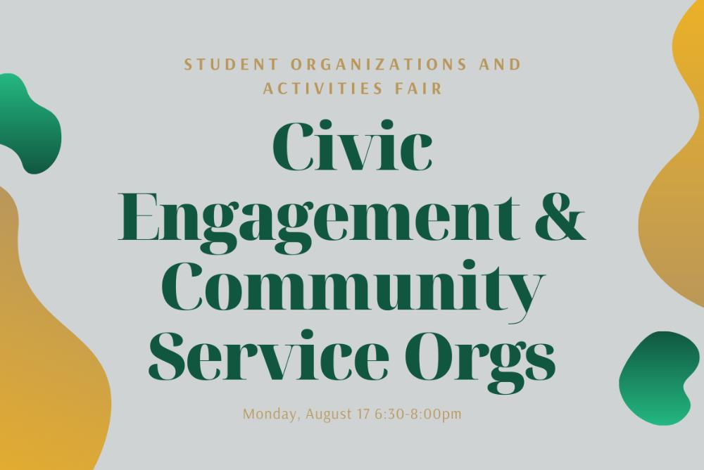 Civic Engagement and Community Service Orgs