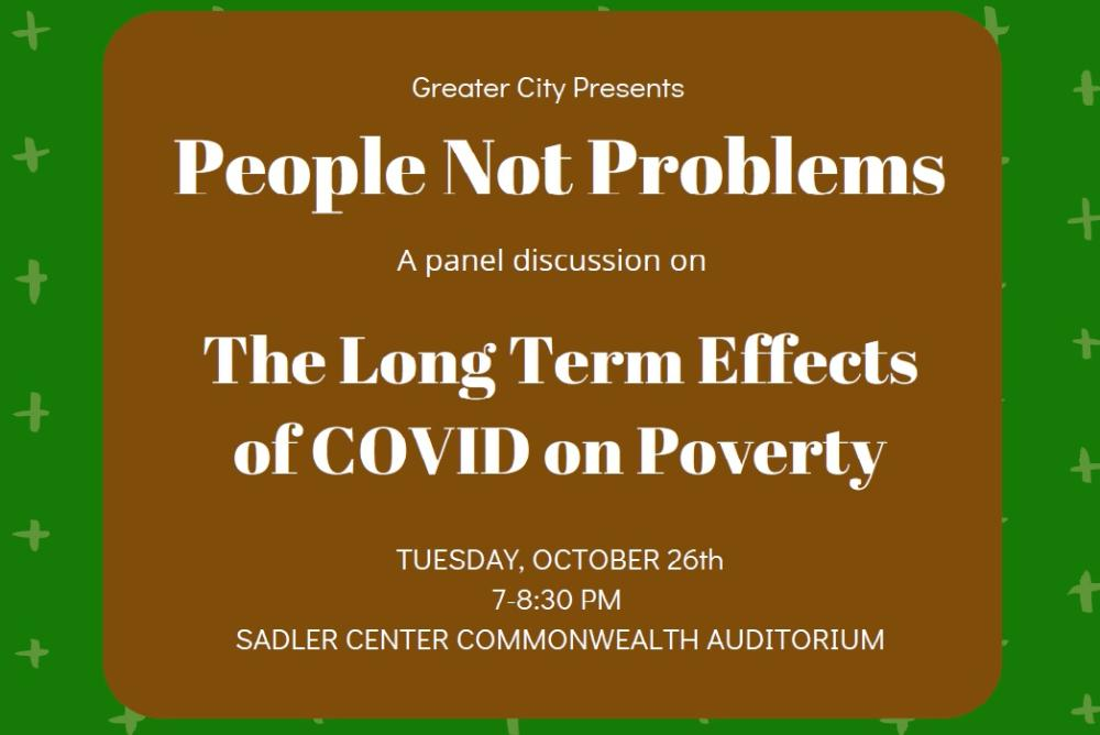 People Not Problems: The Long Term Effects of Covid on Poverty