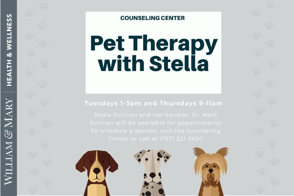 Pet Therapy with Stella