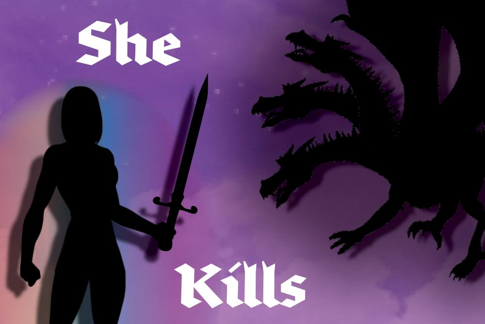 She Kills Monsters Poster