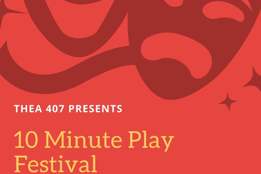 10 minute play festival flyer