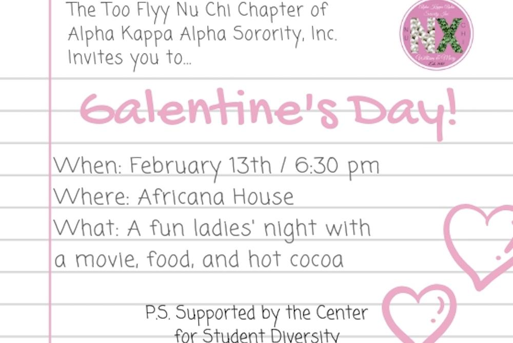 Galentine's Day Flyer