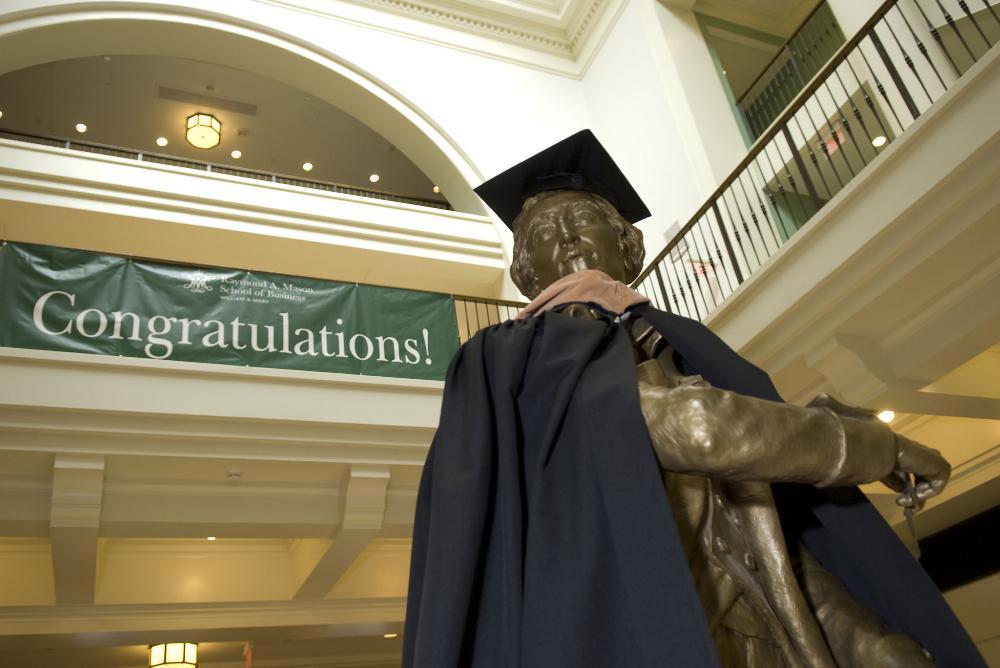 mason school, graduate, miller hall