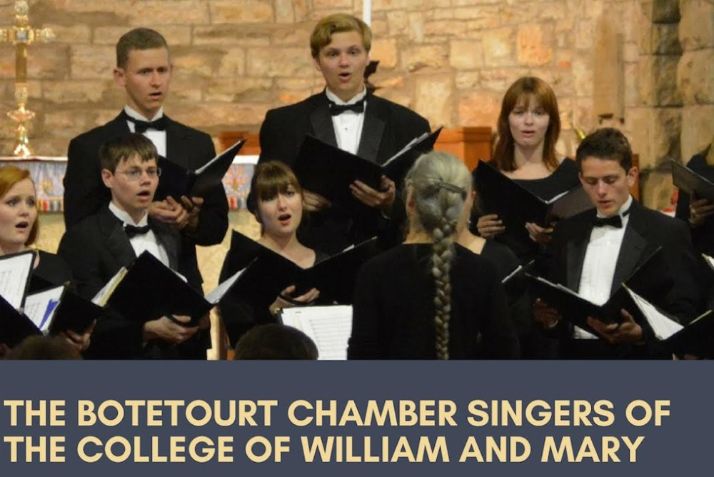 #music #botetourt chamber singers