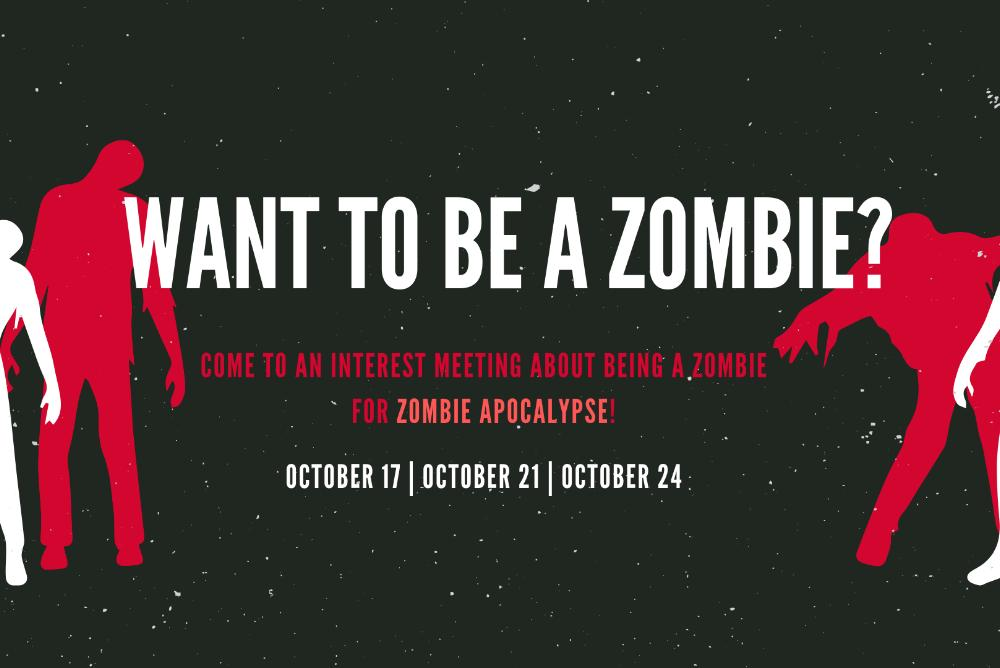 Zombie Apocalypse: Who wants to be a zombie?!?!?!?!?!?!?!?!