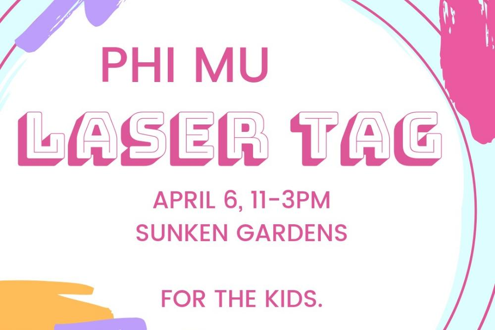 Phi Mu Laser Tag