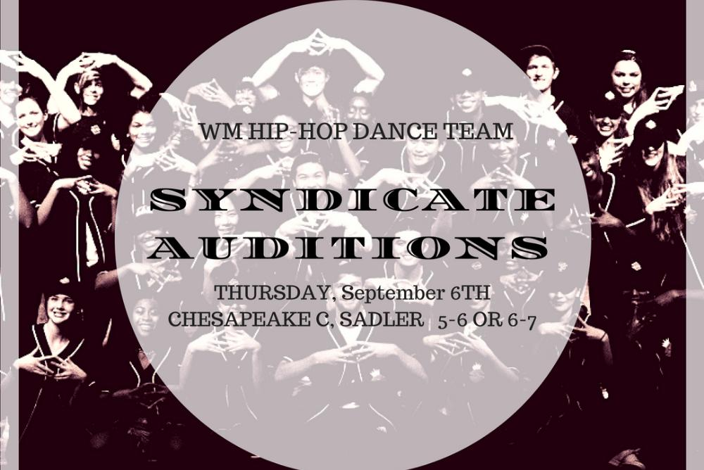 Syndi Auditions Poster