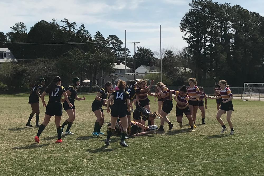 students, rugby, women's