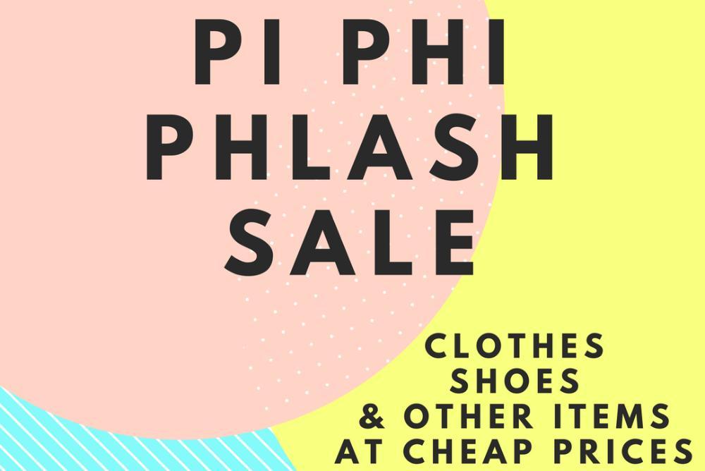 Pi Phi Phlash Sale