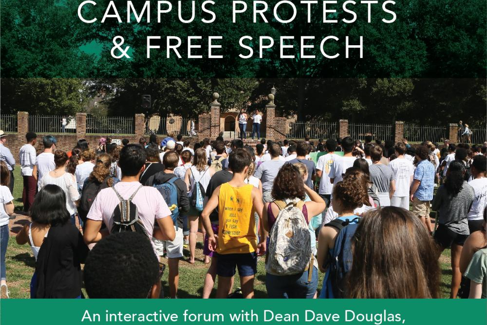 Campus Protests & Free Speech: An Interactive Panel