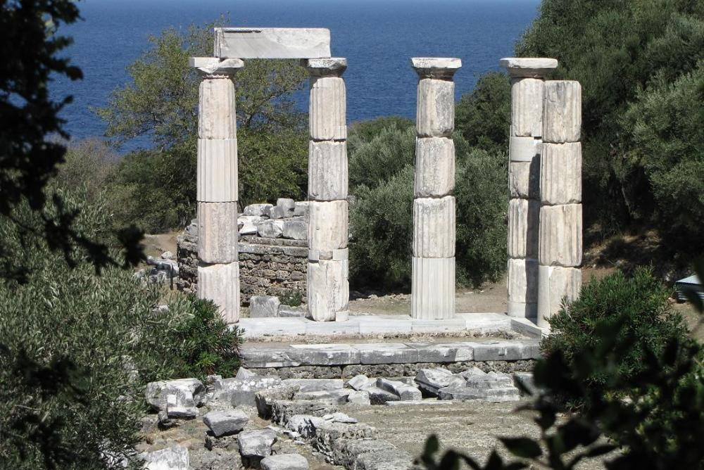 The Hieron at the Samothrace Temple Complex
