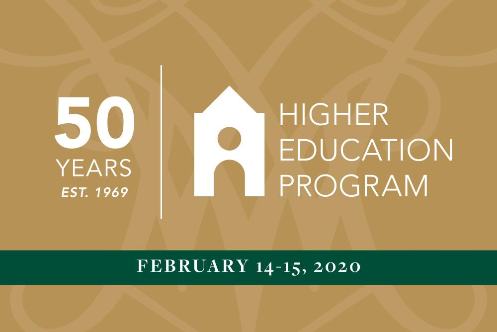Higher Education Program 50th Anniversary
