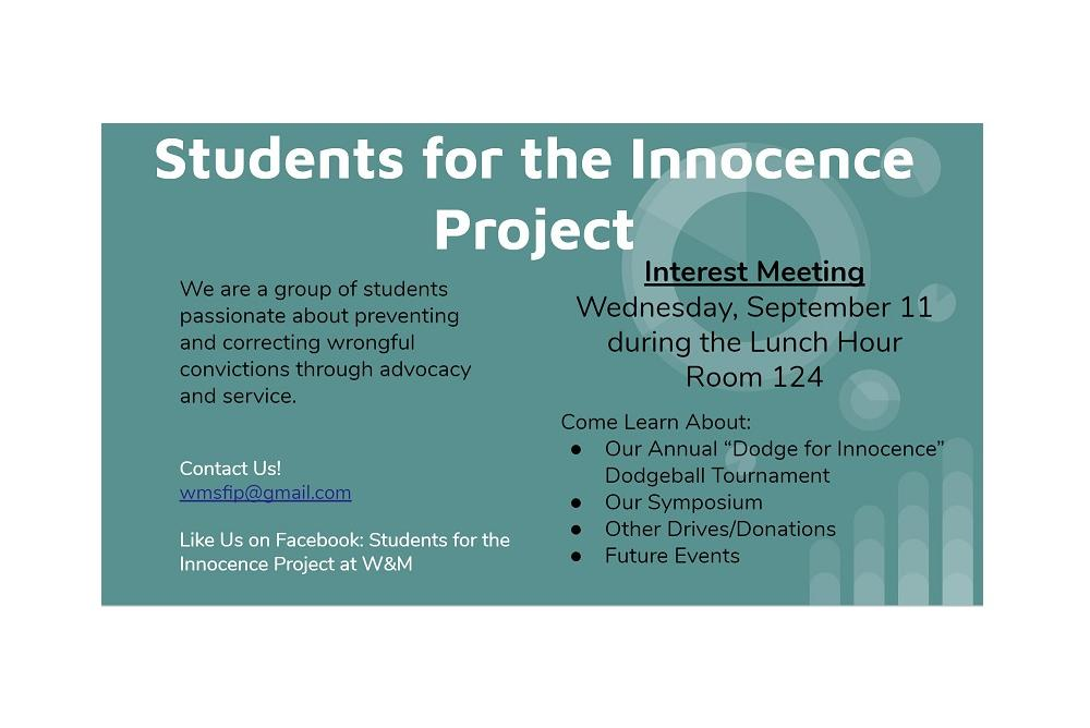 Interest Meeting Flyer