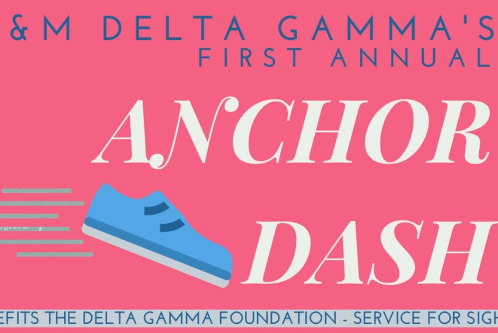Sign-up to participate in Delta Gamma's first annual Anchor Dash!