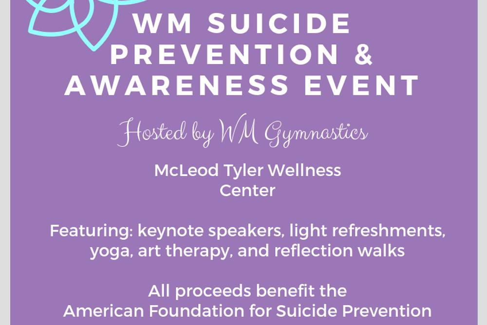 W&M Suicide Prevention and Awareness Event