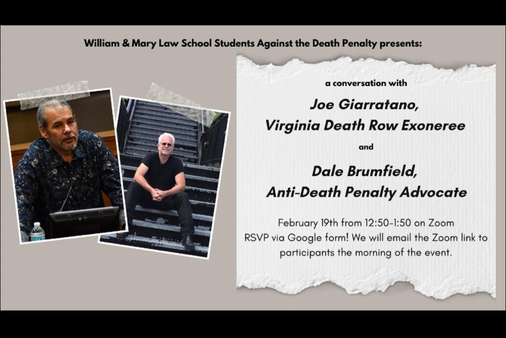 Joe Giarratano & Dale Brumfield