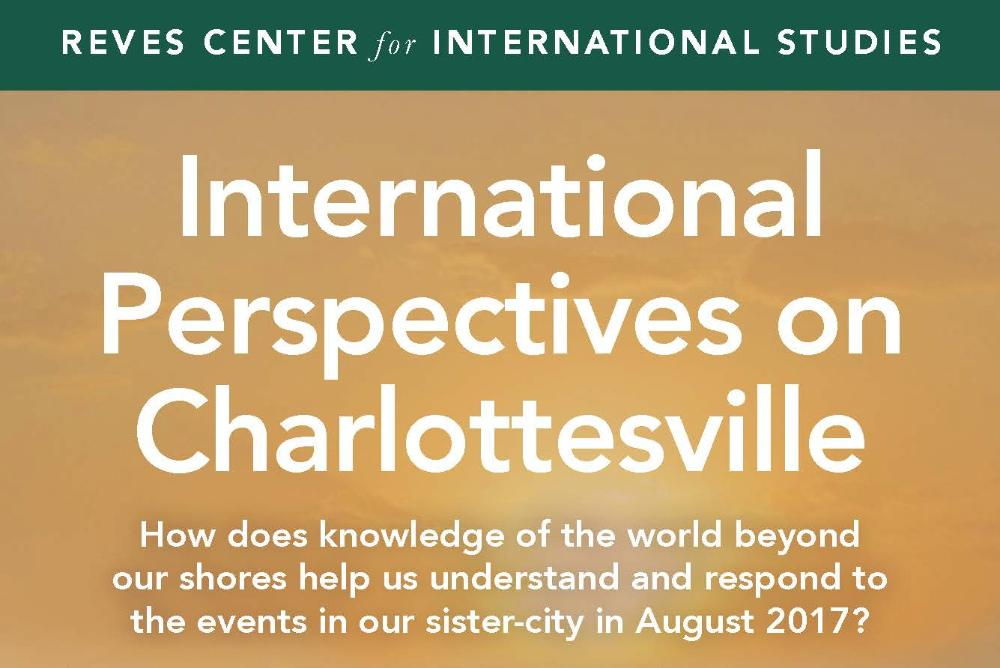 International Perspectives on Charlottesville Flyer