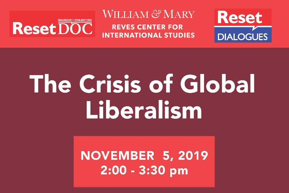 The Crisis of Global Liberalism