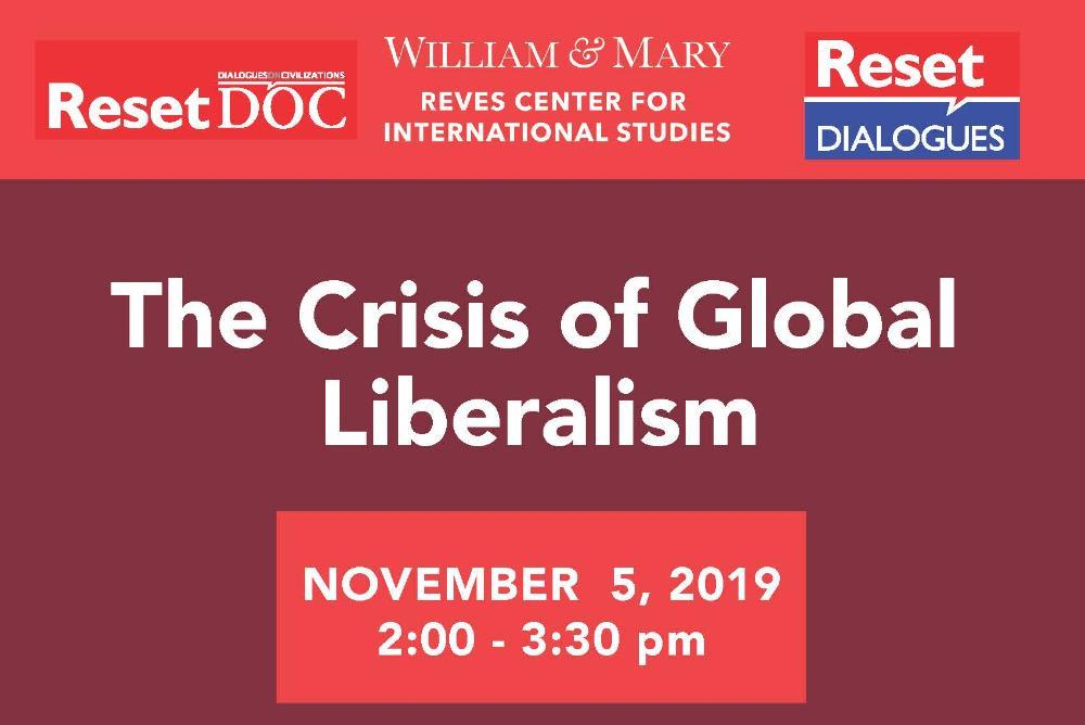The Crisis of Global Liberalism