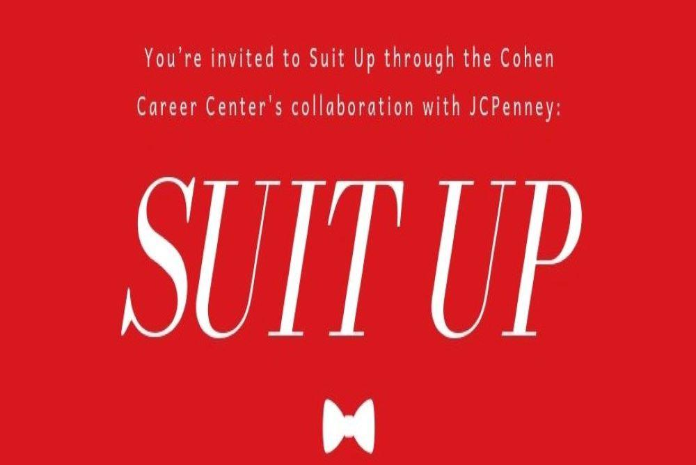 Suit Up Save the Date