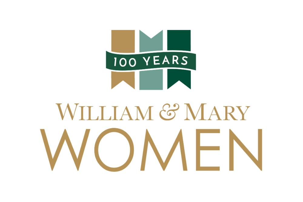 W&M women logo that corresponds with women's events