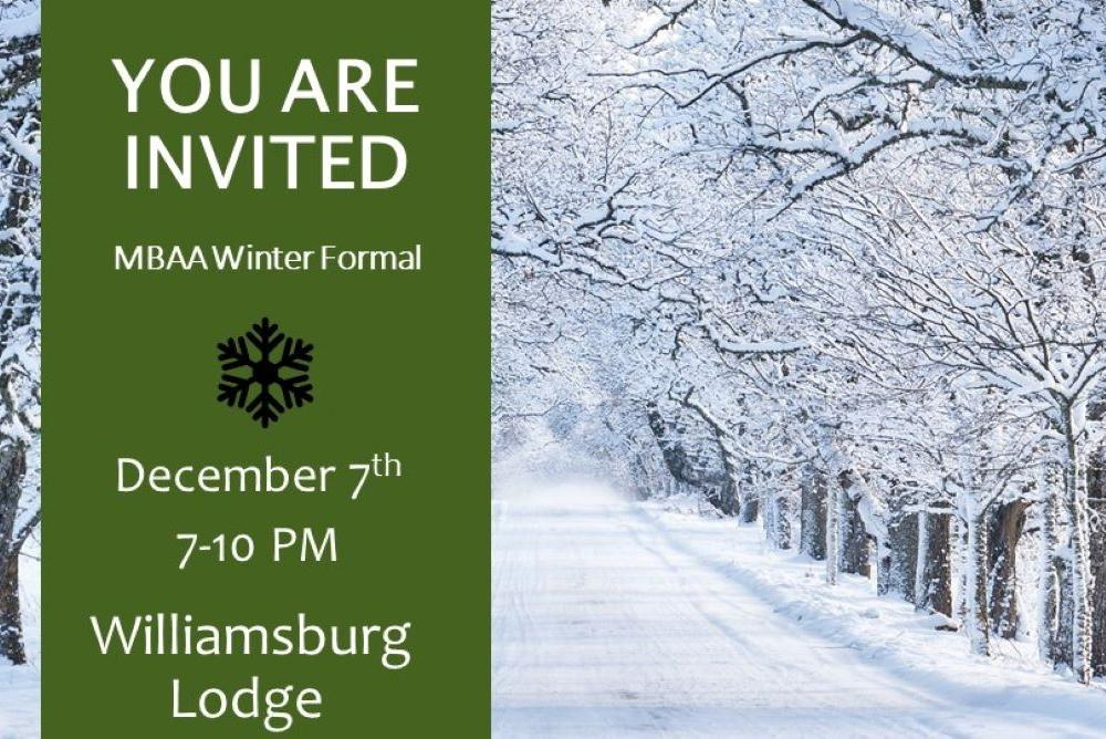 Winter Formal Invitation