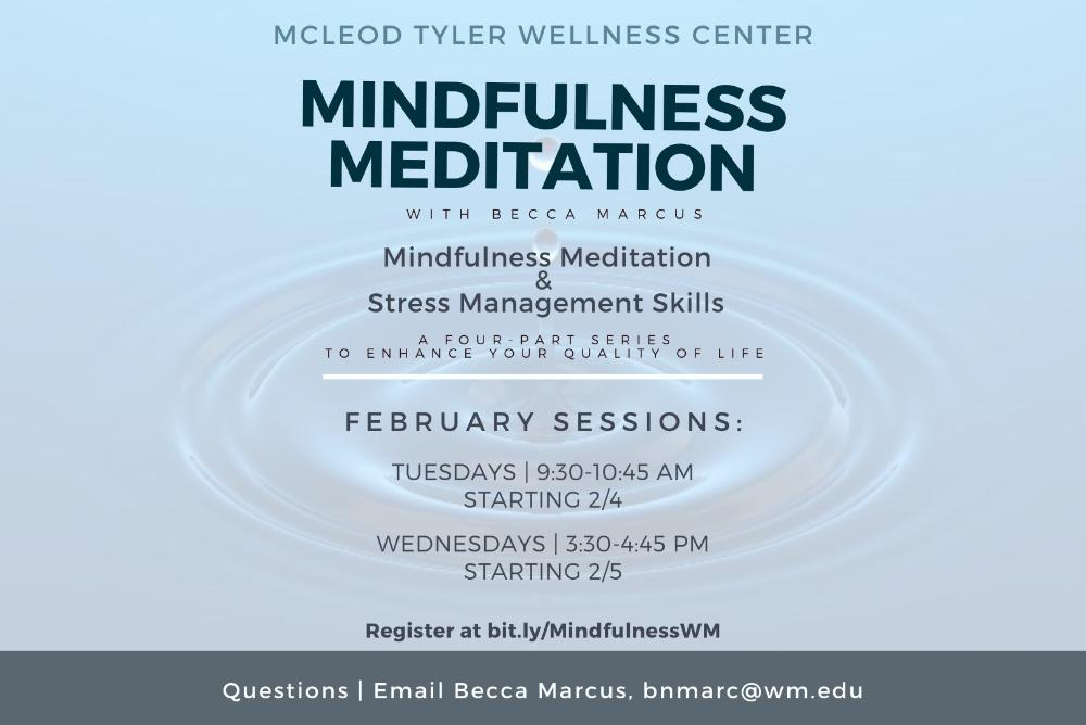 Mindfulness Meditation Series for Students