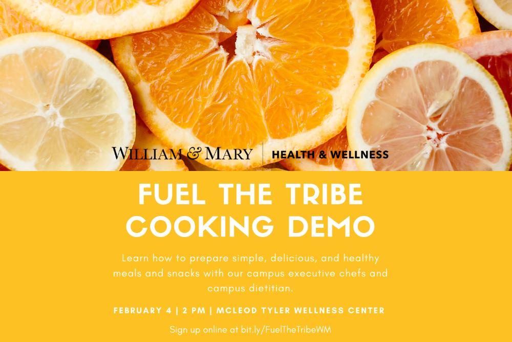 Fuel the Tribe Cooking Demo