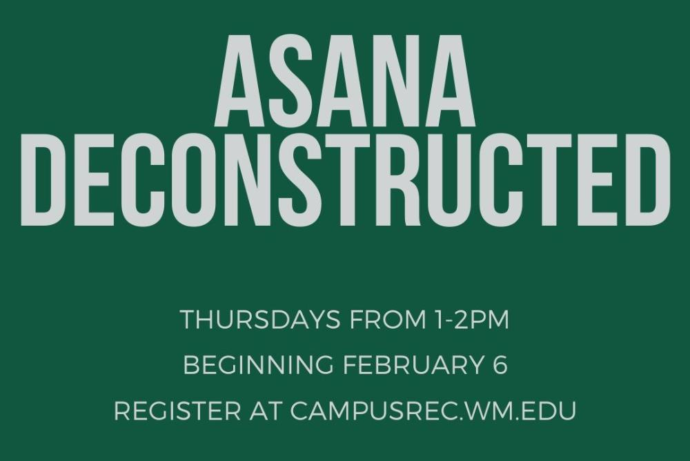 Asana Deconstructed: A Series