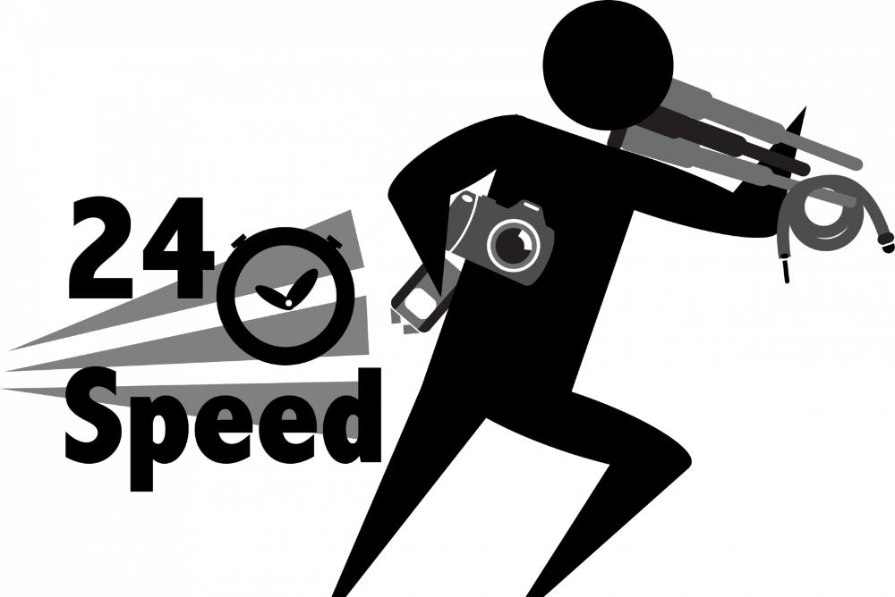 24 Speed Logo