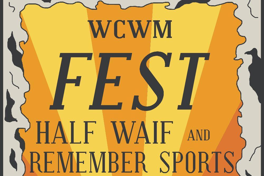 WCWM Fest Poster