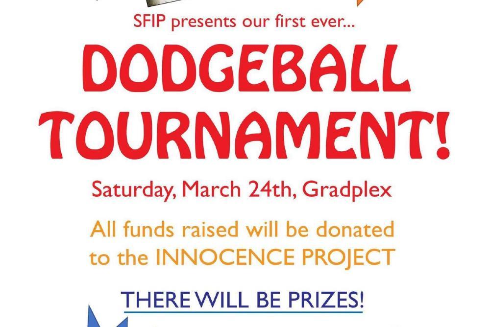 Dodgeball flier