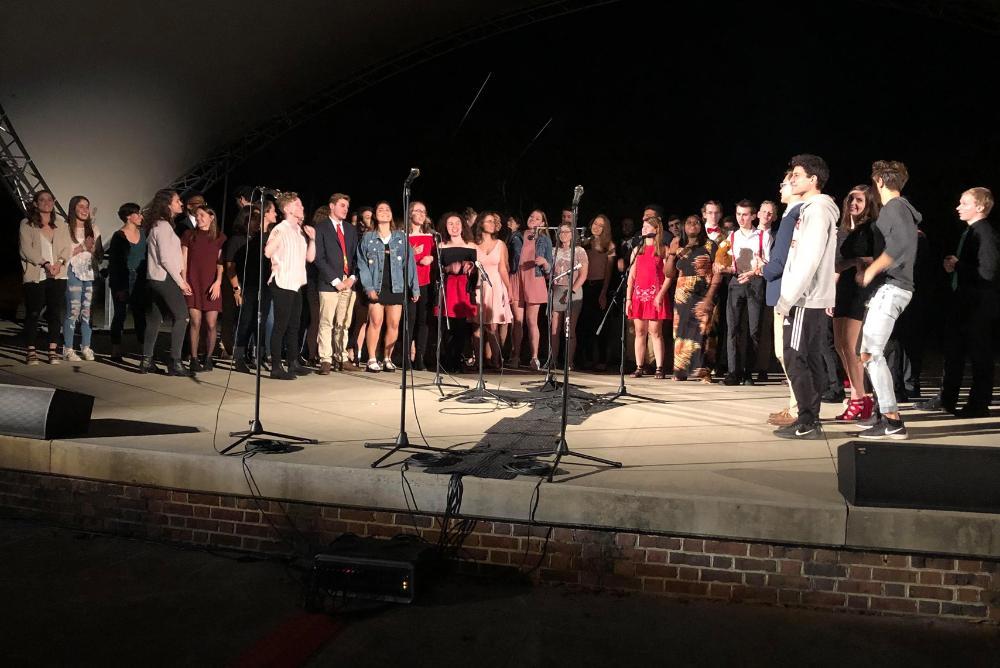 Last semesters A Cappella Showcase