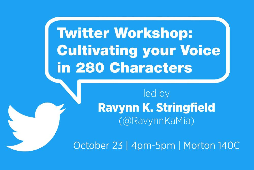 twitter workshop poster