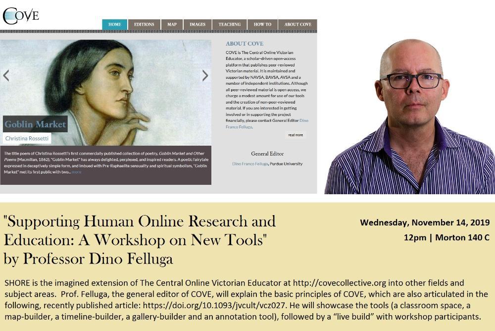 Prof. Dino Felluga Lecture