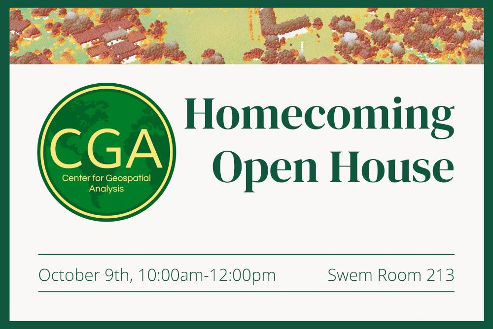 CGA Homecoming Open House