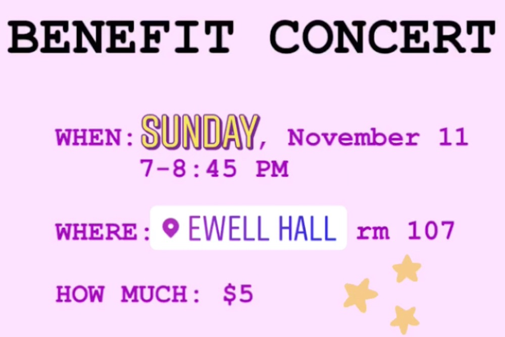 Benefit Concert Details