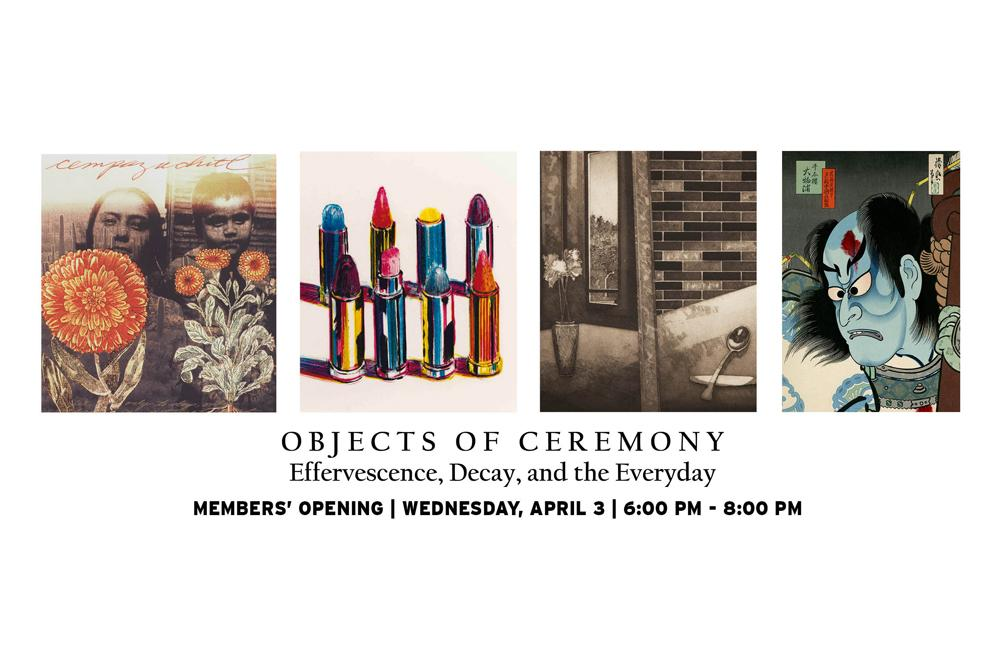 Members' Opening: Objects of Ceremony