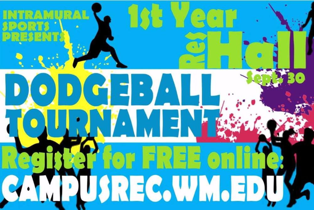1st Year Res Hall Dodgeball Tourney Registration