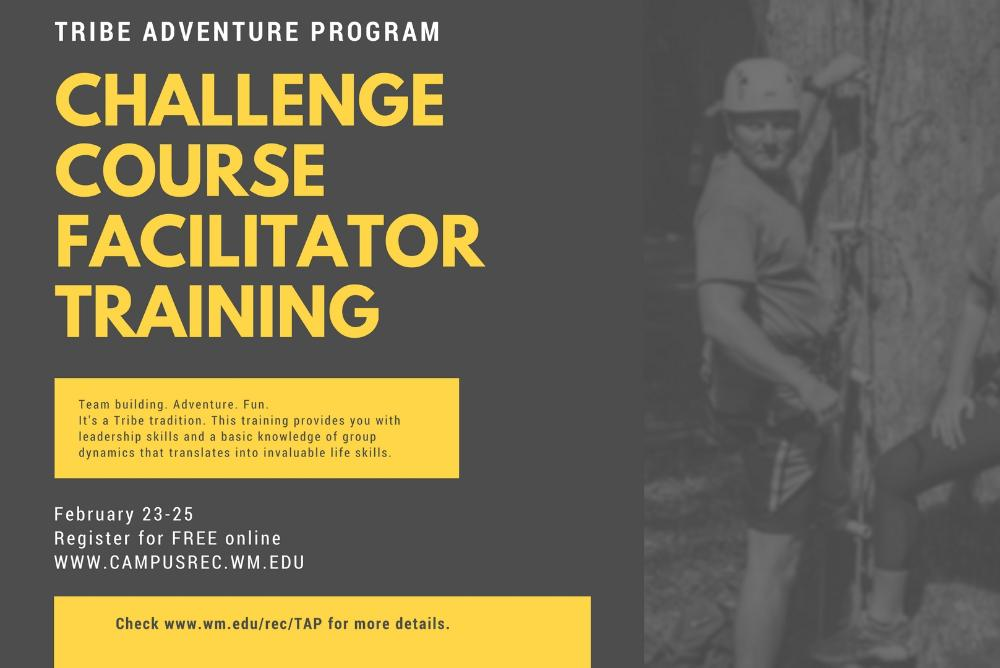Challenge Course Facilitator Training