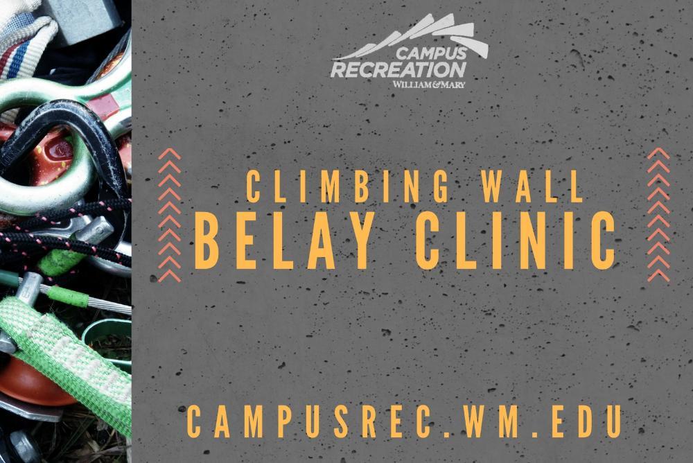 Belay Clinic