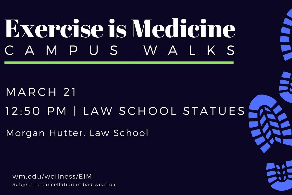 Exercise is Medicine Walks