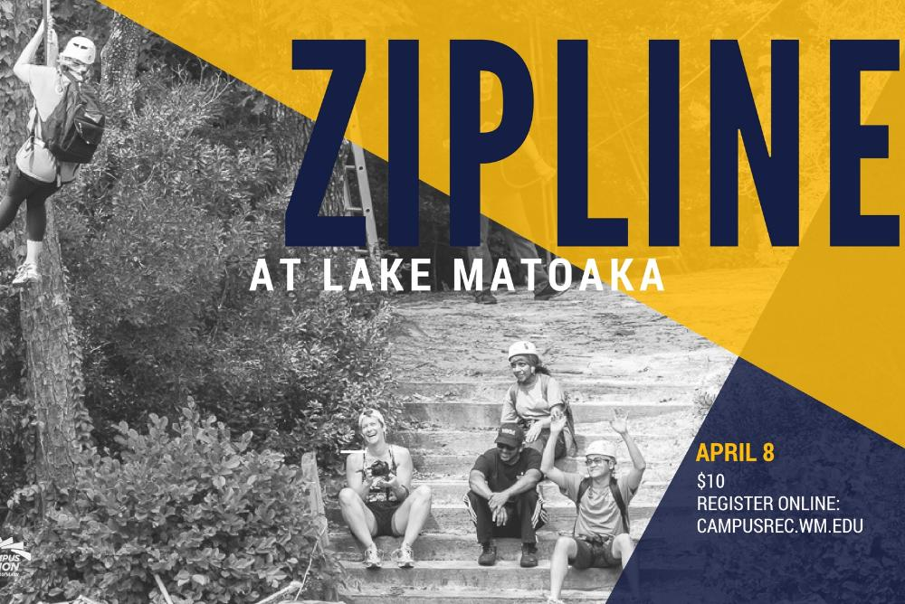 Zipline at Lake Matoaka