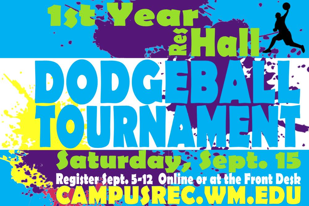 First Year Dodgeball Tournament