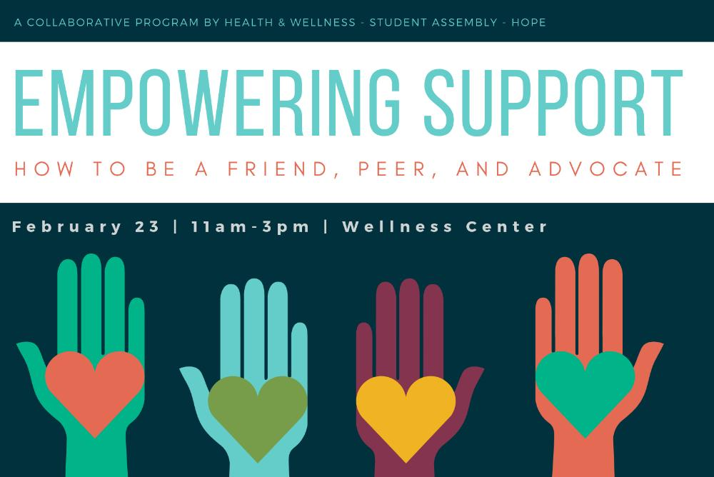 Empowering Support Workshop